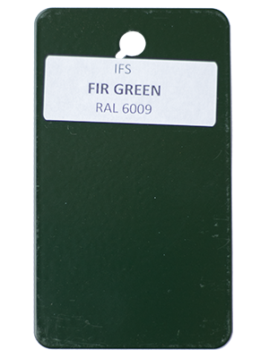 Fir Green Powder Coating Utah