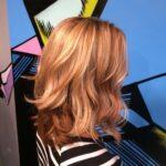 Coppery Blonde tones