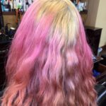 Cotton Candy PINK BEFORE