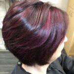 mulberry/violet tones