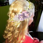 style & custom hair wreath