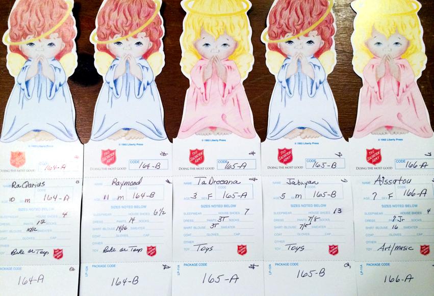 CFM SPONSORS ANGEL TREE CHILDREN