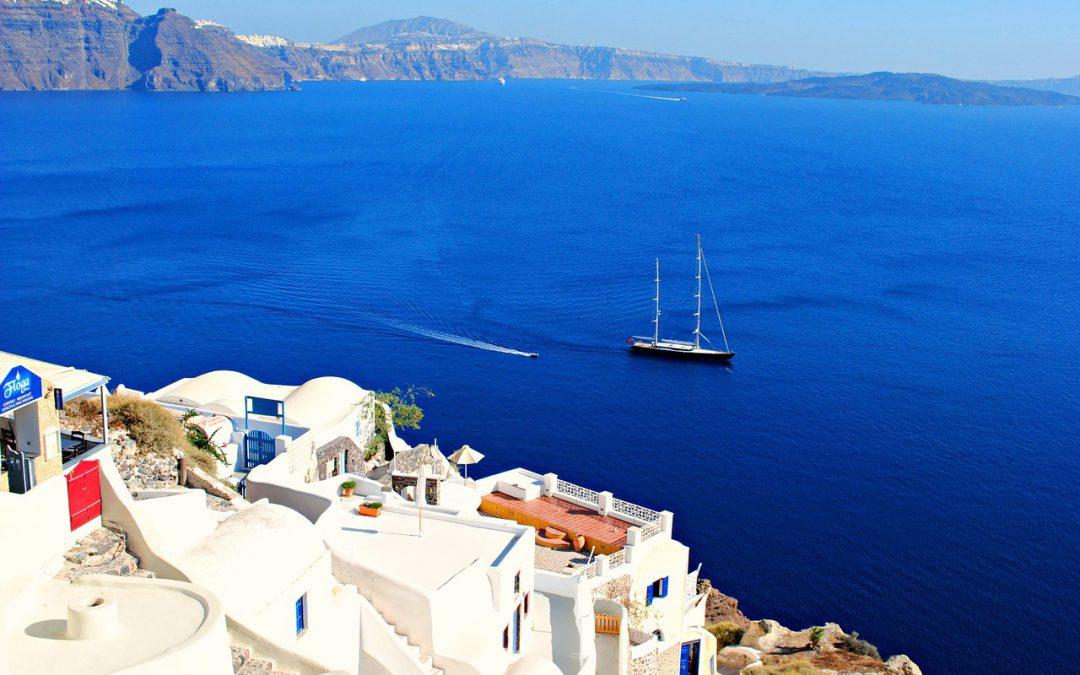 A Mediterranean vacation destination.