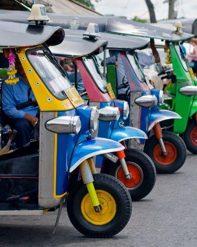 hassle-free tuk-tuk ride in Bangkok