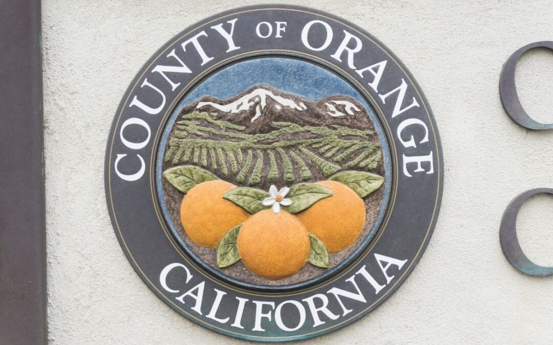 A image of the orange county seal.