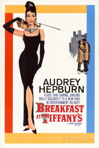 Christmas gift for your friends - vintage movie posters. You can't go wrong with an Audrey Hepburn poster!