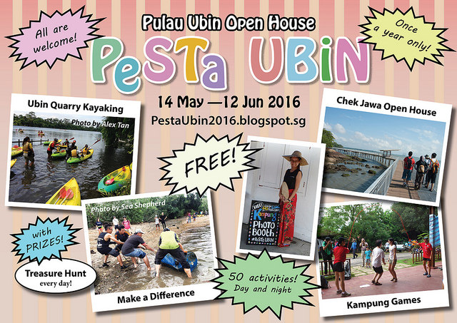 Pesta Ubin 2016| Explore Palau Ubin as you kayak, cycle or walk in this 5-week long festival
