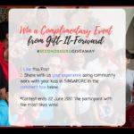 secondsguru contest volunteering with kids singapore