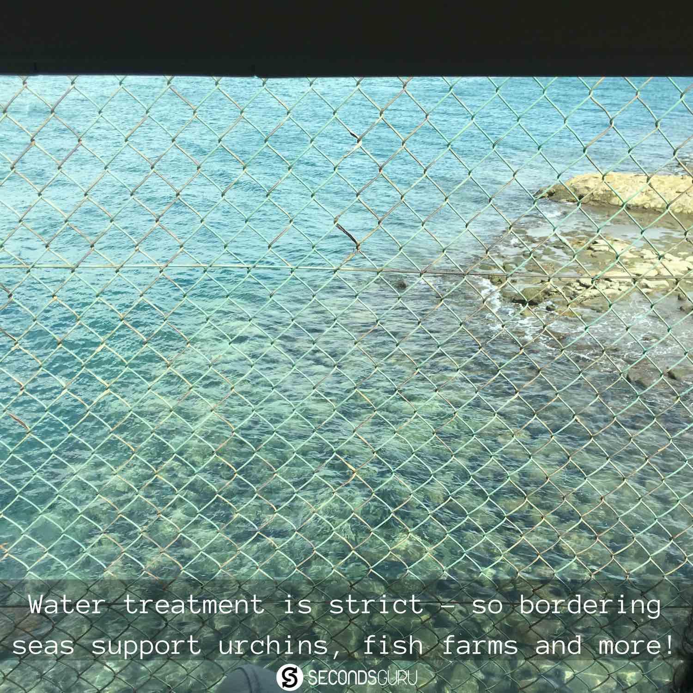 Semakau landfill Singapore coastline