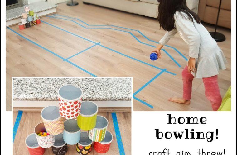 home bowling DIY