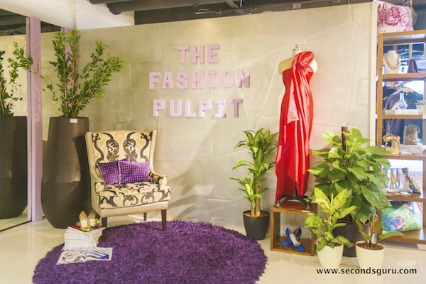fashion pulpit retail store swap preloved used clothes accessories