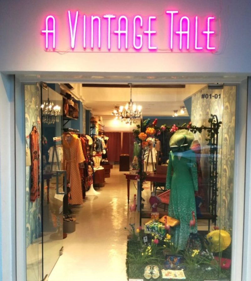 Singapore has an excellent collection of vintage stores
