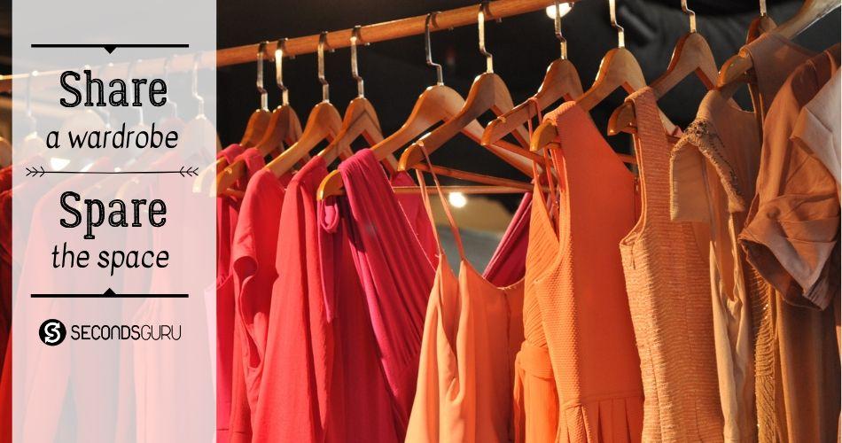 wardrobe share swap exchange clothes