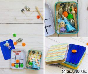 DIY game box for travel