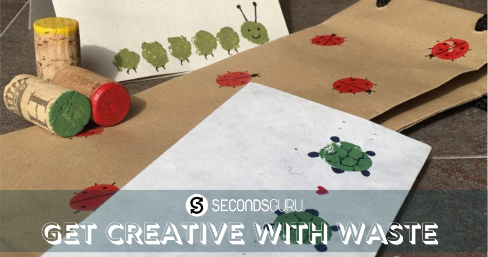 upcycle waste kids craft