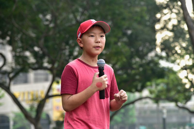 Oliver Chua youth climate activist