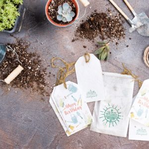 eco gift for kids plantable stationery