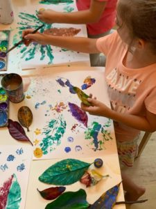 eco gift for kids canvass workshop