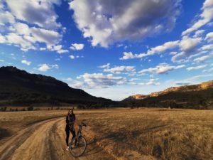 Priyanka Shahra on a cycle trip
