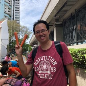 Daniel Tay, Founder of SG Food Rescue