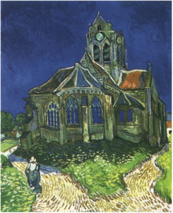 The Church in Auvers-sur-Oise, View from the Chevet Vincent van Gogh 1890
