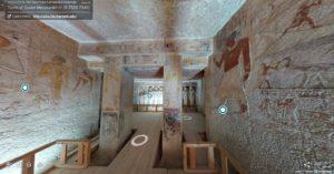 Inside Queen Meresankh III tomb