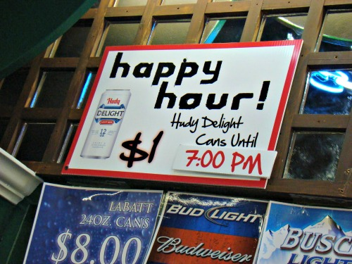 The Cincinnati Rollergirls Happy Hour