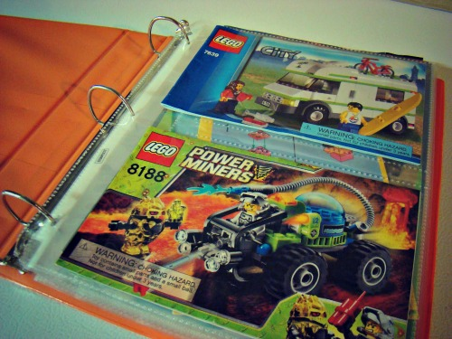 Lego Instruction Manual Pages 2