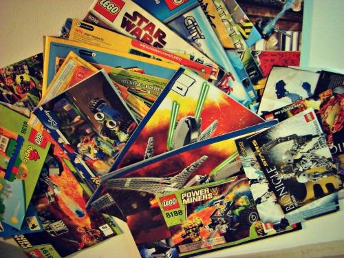 Lego Intstruction Manuals