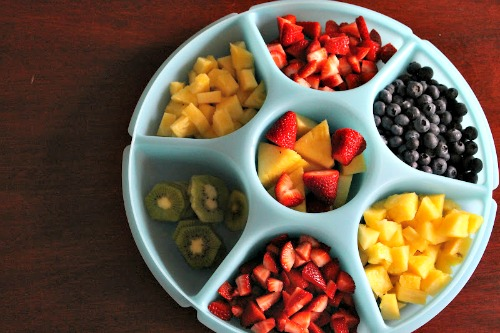 Fruit Pizza Cookies - Fruit