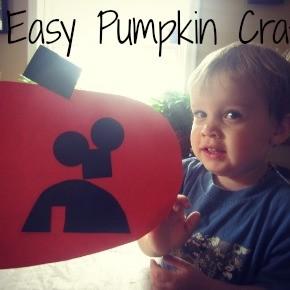 Easy Pumpkin Craft