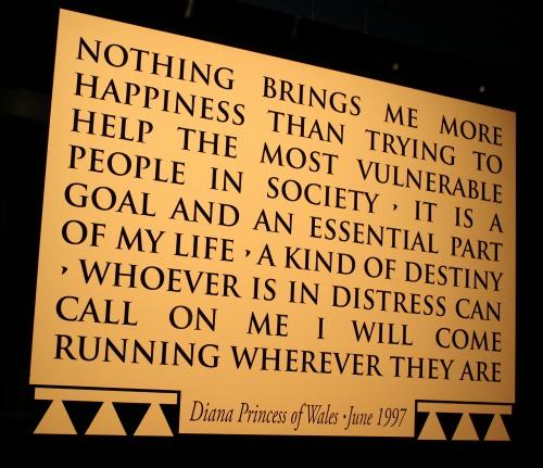 Celebrate Diana Quote