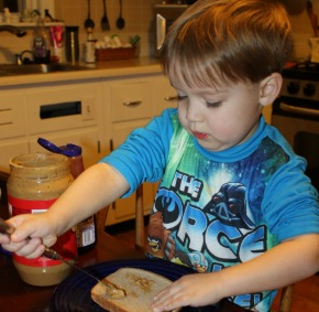 The Independent Child :: Henry & The PBJ Sandwich