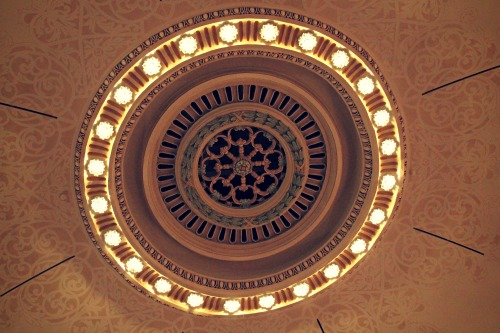 Carnegie Arts Center Theatre Ceiling