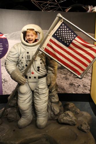 Museum of Science & Industry Astronaut