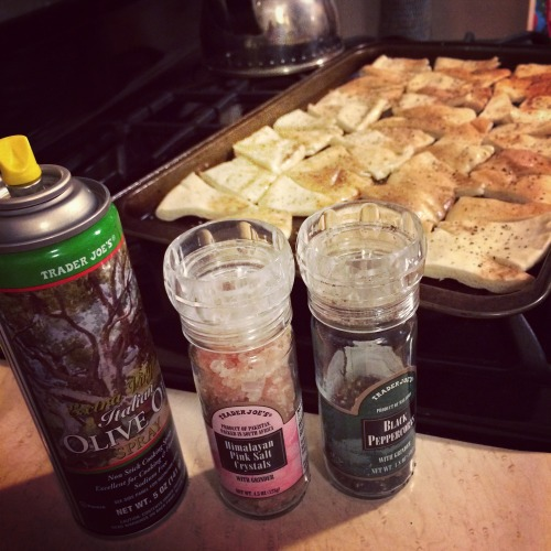 Easy Appetizers Toasted Pita Chips