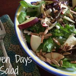 Seven Days of Salad