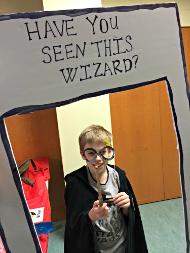 Harry Potter Photo Booth 1