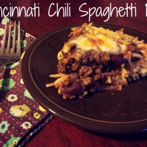 Cincinnati Chili Spaghetti Pie