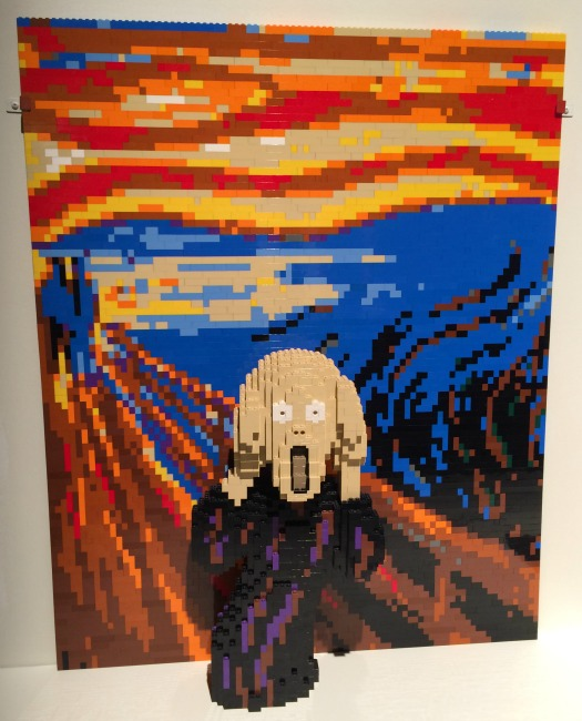 The Art of the Brick The Scream