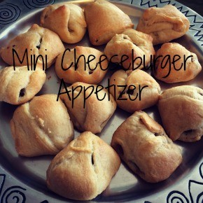 Mini Cheeseburger Appetizer Recipe
