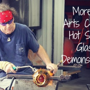 Morean Glass Studio  Hot Shop Glass Demonstration in St. Petersburg