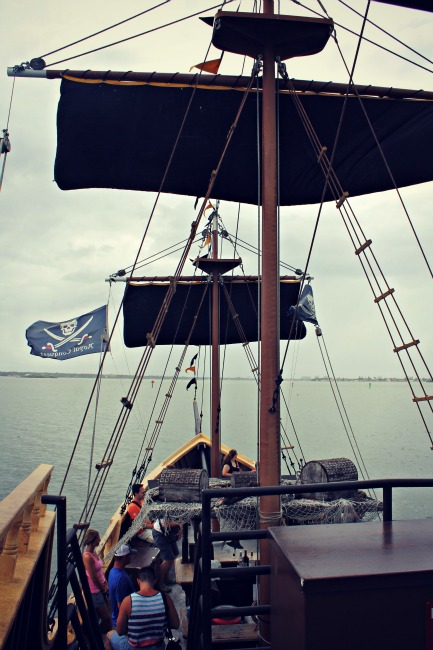 The Pirate Ship View