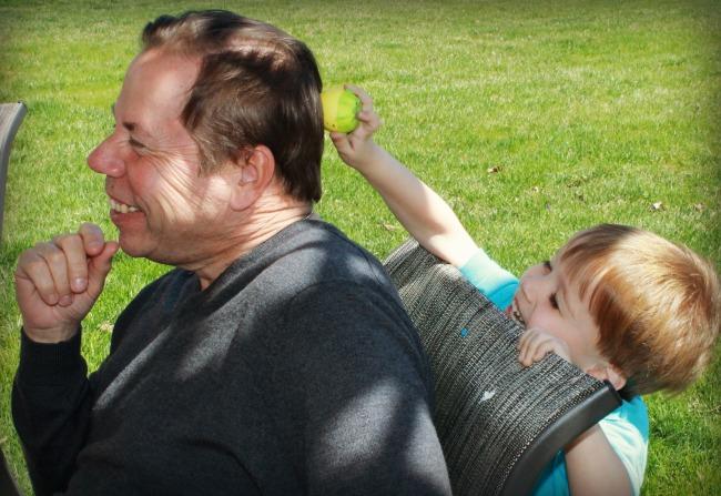 Cascarones Uncle Bob