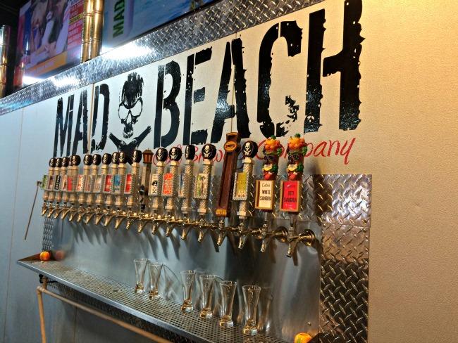 Mad Beach Brewing Taps