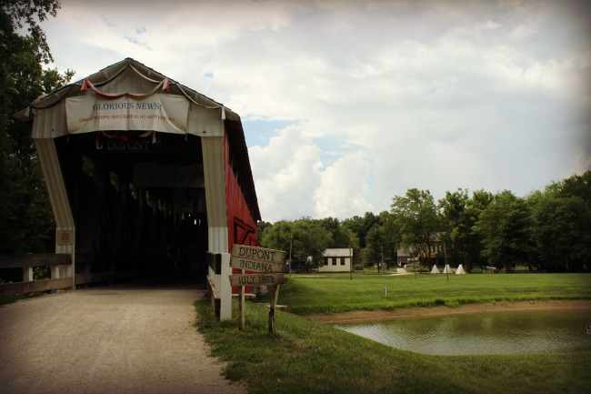 Conner Prairie Covered Bridge