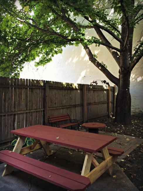 Covington Coffee Company Backyard