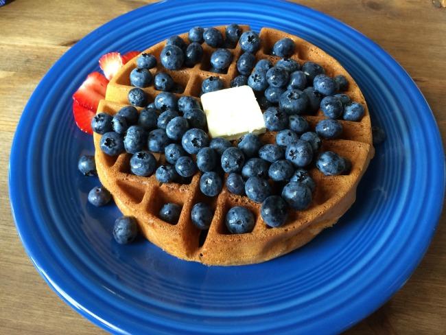 Covington Coffee Company Blueberry Waffle