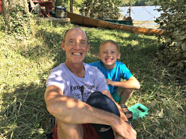 Doe Run Lake Dad and Sam