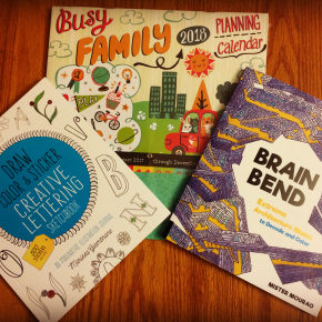 Review: Busy Family Planning Calendar & Creative Books